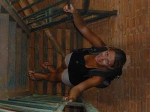 steile Stufen am Leuchtturm